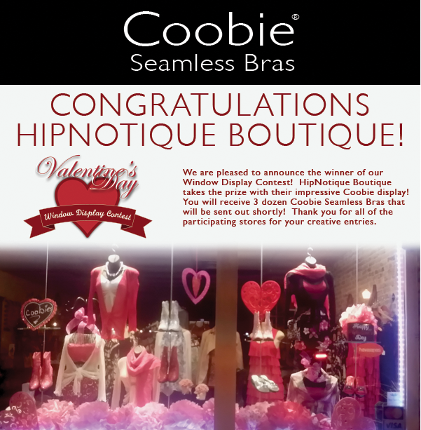 Coobies Window Display Contest